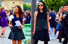 Click on the image to view the full street style slideshow on our website!