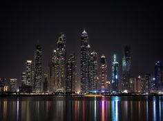 Dubai Nights by Mohamed Raouf on 500px