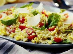 Corn and Tomato Orzo Salad from CookingChannelTV.com