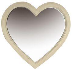 Emily Rose - Vintage Love Heart Mirror