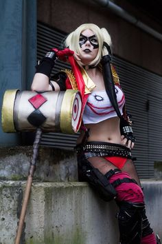 Character: Insurgency Harley Quinn (Dr. Harleen Quinzel) / From: Warner Bros. Interactive Entertainment's 'Injustice: Gods Among Us' Video Game / Cosplayer: MiuMoonlight Cosplay / Photo: Ruffys Fotografie