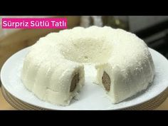 Sürpriz Sütlü Tatlı - Naciye Kesici - Yemek Tarifleri - YouTube Dinner Recipes, Dessert Recipes, Doritos, Just Desserts, Doughnut, Tart, Waffles, Muffin, Food And Drink