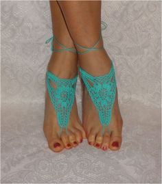 Hey, I found this really awesome Etsy listing at https://www.etsy.com/listing/113160493/crochet-barefoot-sandalsbarefoot