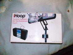 """IHOOP Outdoor Speakers for the BASKETBALL COURT - new by IHOOP. $21.00. uses 4 """"AAA"""" batteries (not included)"""