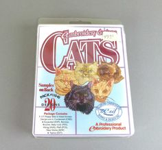 Cats 2 Embroidery Pack - #11040 - Embroidery Designs - Oklahoma Embroidery Supply - Cats by TheEclecticBazzar on Etsy