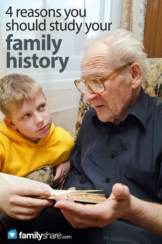 FamilyShare.com l 4 reasons you should study your #family #history #genealogy