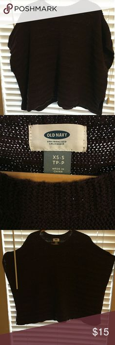 Old Navy Poncho Nice brown poncho Old Navy Sweaters Shrugs & Ponchos