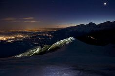 Full #moon #night. In winter, in the mountains this is the best moment for snowshoeing and take great pictures of the landscape all around. #Oasi #Zegna, #Italy. www.oasizegna.com