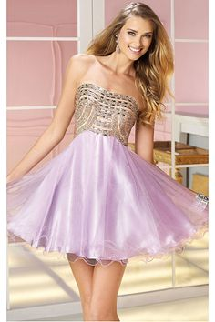 Glowing Purple Short Tulle Sleeveless Quinceanera Dresses