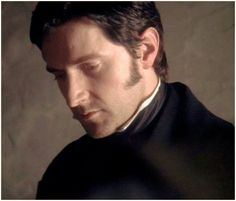 "Romantic BBC drama ""North & South"" based on a novel by Elizabeth Gaskell Elizabeth Gaskell, British Men, British Actors, Sinead Cusack, Rupert Evans, John Thornton, Bbc Drama, Look Back At Me, Cinema"