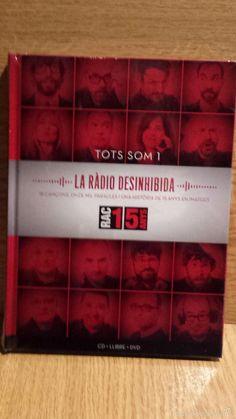 TOTS SOM 1. LA RADIO DESINHIBIDA. RAC 1. 15 ANYS. LIBRO CD + DVD / PRECINTADO.