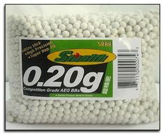 5000 Bag 20g 6mm BBs for Airsoft Guns *** Check out the image by visiting the link.