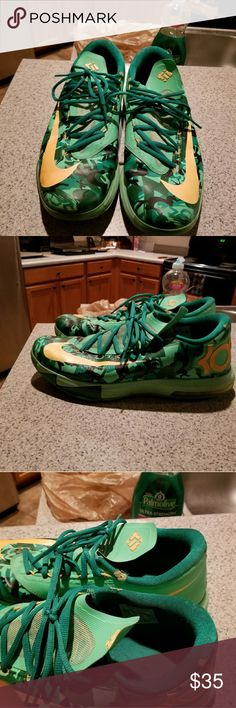 Kevin Durant Shoes Special Edition KD Shoes. Has Been Worn, But Still Has Tons Of Life Left. Nike Shoes Athletic Shoes