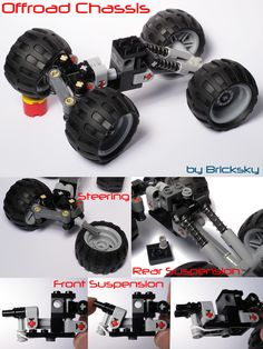 Compact Off-Road 4x4 Suspension Chassis with Stearing! - D… | Flickr