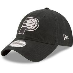 promo code e97a2 0cb19 New Era Indiana Pacers Black 9TWENTY Core Classic Adjustable Hat
