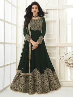 Top 5 Trendy Anarkali Suits Design for Any Occasion - Inddus.com Designer Anarkali Dresses, Indian Dresses Online, Abaya Fashion, Indian Fashion, Fashion Dresses, Anarkali Suits, Anarkali Gown, Indian Ethnic Wear, Look Chic