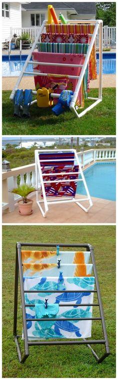 Easy DIY PVC Garment Rack | DIY Tag