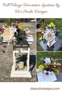 Decorative Lanterns, Lanterns Decor, Candleholders, Led Candles, Autumn Theme, Inspired Homes, Nature Inspired, Fall Season, Event Decor