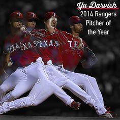 Yu Darvish - 2014 Rangers Pitcher of the Year
