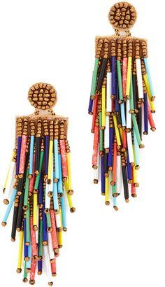 Deepa Gurnani Deepa by Deepa Gurnani Charlotte Earrings Diy Jewelry, Beaded Jewelry, Jewelry Accessories, Fashion Jewelry, Jewelry Making, Unique Jewelry, Jewellery, Pendant Jewelry, Silver Jewelry