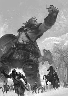 Viking Badass on Behance