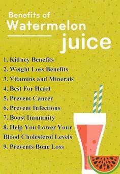 Top 9 Health Benefits Of Watermelon Juice..