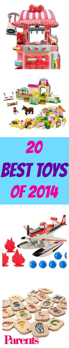 Check out the top 20 #toys from the 2014 International Toy Fair. You'll find options for kids of all ages!