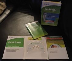 Intuit Quickbooks Pro 2010 Financial Software Windows w/ box, disc, product key #Intuit
