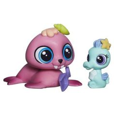 Littlest Pet Shop Pet Pawsabilities Wallace Waterman & Sally Seaforth