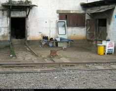 RailPictures.Net Photo: n/a Ghana Railways n/a at Accra, Ghana by Graham Williams