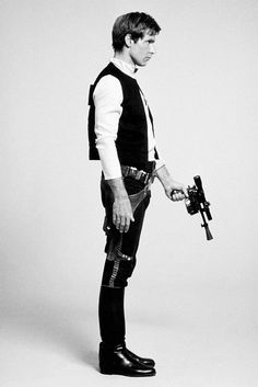 I decided while watching A New Hope today that Han Solo/Harrison Ford is very attractive. Yep.