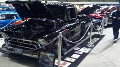 1957 Chevy truck. Jax Wax Customer  Ricky Ashworth. Newport News, VA Virginia Hot Rod and Custom Car Show Hamptom VA 2014 #VirginiaCarShow jaxwax.com