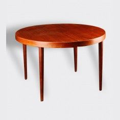 Table De Repas Scandinave Vintage Ronde