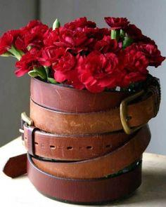 Un vase atypique.