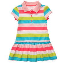 Carter's baby apparel at Kohl's - Shop our full line of girls' dresses, including this Carter's Rainbow Striped Knit Polo Dress, at Kohl's. Baby Girl Dresses, Baby Dress, Dress Set, Toddler Outfits, Kids Outfits, Carters Baby Girl, Baby Girls, Baby Baby, Baby Kids Clothes