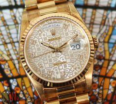 Divine Intervention!Rolex 36mm DayDate President Super Jubilee #luxury cars #luxury homes #luxury house