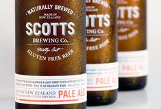 Scotts Brewing Co. Pale Ale Bottles