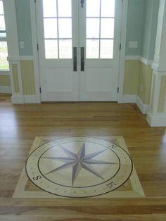 1000 images about hardwood floor on pinterest hardwood for Wood floor medallions inlay designs
