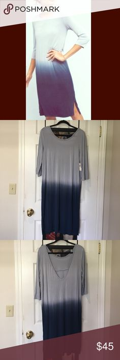 Anthropologie Eloise nightgown NWT. Size L. Super soft and comfy materials and not see through so can be a summer dress ( can put a belt on too). Very stretchy so will fit if you're XL as well. Made in USA. Price is firm unless bundle. Anthropologie Dresses Midi