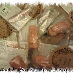 Tiki Bar Soap samples in the out of the box etsy sampler http://www.etsy.com/shop/TikiBarSoap