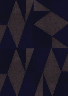 Really different geometric patterned tile.