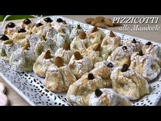 PIZZICOTTI ALLE MANDORLE 4 gusti GLUTEN FREE facili e veloci ALMOND DESSERT - Tutti a tavola - YouTube Italian Cookies, Italian Desserts, Italian Recipes, Gluten Free Cakes, Gluten Free Desserts, Cookie Recipes, Dessert Recipes, Patisserie Sans Gluten, Biscotti Cookies