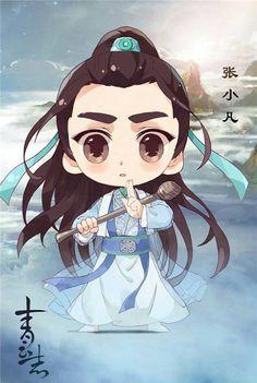 [Chibi] Nhân vật phim Tru Tiên Thanh Vân Chí | Kim  Linh động phủ  #หลี่อี้เฟิง #CHIBI #BOY 01