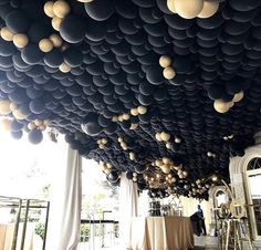 Balloon Ceiling, Balloon Arch, Balloon Garland, Balloon Decorations, Balloons, Ceiling Lights, National Holidays, 50th Birthday Party, Event Styling