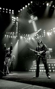 Heaven & Hell / Ronnie James Dio / Tony Iommi Photo by Ross Halfin