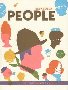 French illustrator Blexbolex - People