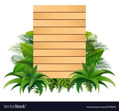 Blank sign wood board on the leaves vector Boarder Designs, Page Borders Design, Flower Backgrounds, Wallpaper Backgrounds, Certificate Background, Wedding Background Images, Photo Frame Design, Butterfly Clip Art, Blank Sign