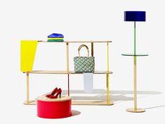 fabrica: objet coloré modular store display system