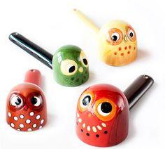 Fun Cooking: Owl Bird Measuring Spoon Baking Set