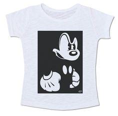 disney mickey mouse camiseta preto e branco pb bravo angry